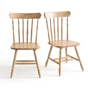 Chaises à barreaux, Lunja (lot de 2) La Redoute Interieurs