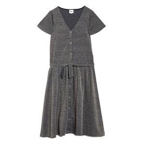 Kleid NUIT D'IVRESSE mit Knopfverschluss BLUNE