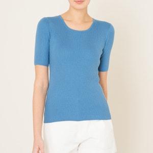 Pullover mit flachem Rippmuster MARIE SIXTINE
