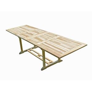 Table de jardin en teck BATAN 10/12 places C ET L JARDIN