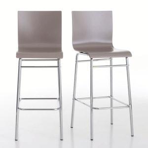 Lote de 2 cadeiras de bar, Janik La Redoute Interieurs