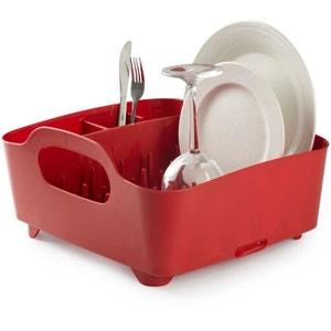 Egouttoir à vaisselle avec poignées de transport UMBRA
