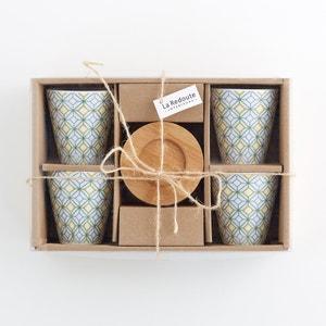 Set of 4 Porcelain Coffee Cups La Redoute Interieurs