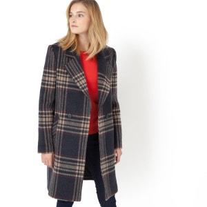 Manteau à carreaux La Redoute Collections