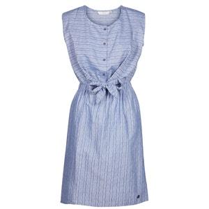 Kleid, elastischer Taillenbund, ärmellos, Baumwolle NUMPH