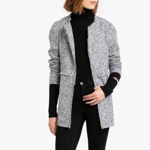 Halflange jas zonder sluiting