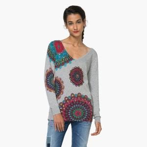 Pullover, bedruckt, lange Ärmel DESIGUAL
