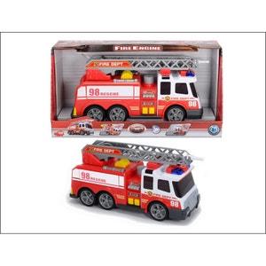 Dickie 203308358 Fire Brigade - Camion de pompiers avec fonction jet d'eau. DICKIES