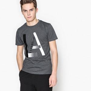T-shirt estampada, 10-16 anos La Redoute Collections