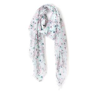 Bufanda con estampado de flores ESPRIT