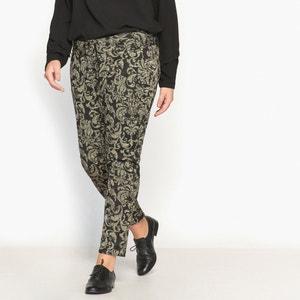 Spodnie rurki z dzianiny CASTALUNA