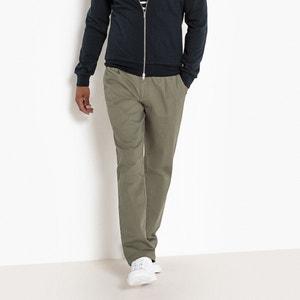 Chino broek met naden