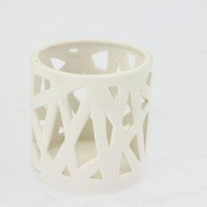 Lumignon en porcelaine ajourée - Diam. 7 cm ATMOSPHERA