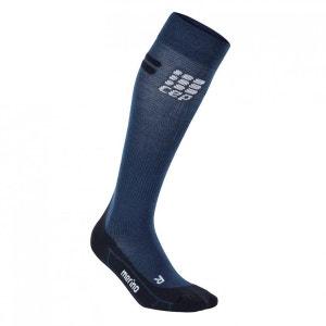Run Merino - Chaussettes course à pied Femme - bleu/noir CEP
