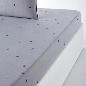 Lenzuolo con angoli fantasia misto lino e cotone AYANNA La Redoute Interieurs