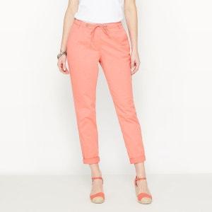 Pantalon coton stretch ANNE WEYBURN