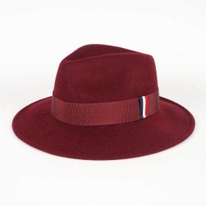 Chapeau en feutre de laine Bordeaux 1789 CALA