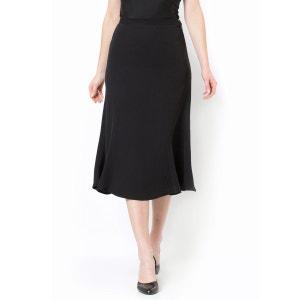 Softly Draping Twill Gored Skirt ANNE WEYBURN