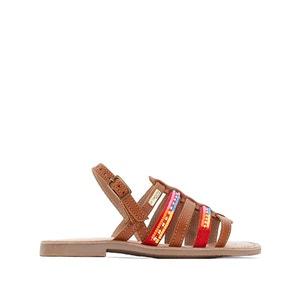 Mango Leather Sandals LES TROPEZIENNES PAR M.BELARBI