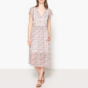 Geblümtes Kleid aus weich fliessendem Material DIANA BA&SH