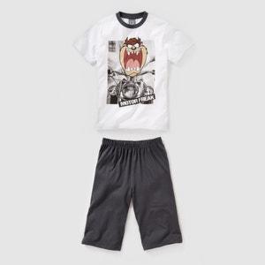 Pijama em jersey TAZ 10-16 anos LOONEY TUNES