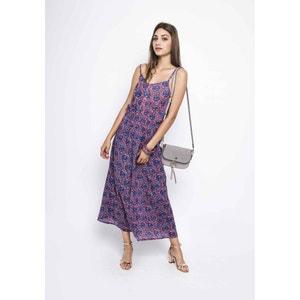 Lange jurk met smalle bandjes COMPANIA FANTASTICA