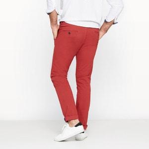 Pantalon chino stretch coupe ajustée CASTALUNA FOR MEN