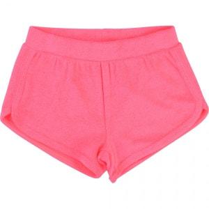 Short sportwear en éponge rose PRINCESSE ILOU
