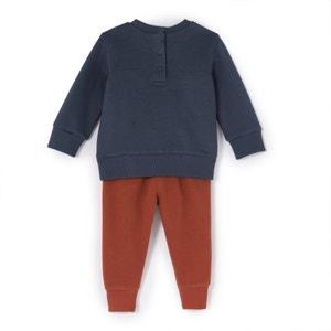 Conjunto de 2 prendas con sudadera y jogpants 1 mes - 3 años La Redoute Collections