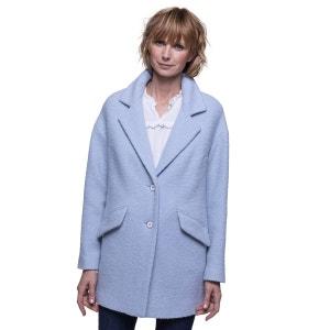 Manteau oversize en laine bouclée TRENCH AND COAT