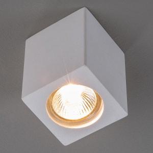 Spot en plâtre Anelie pour lampe halogène GU10 LAMPENWELT