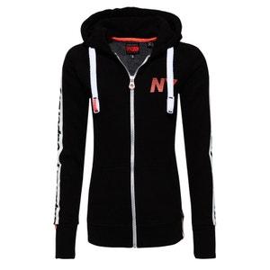 Veste à capuche zippée Raglan Sport Code SUPERDRY