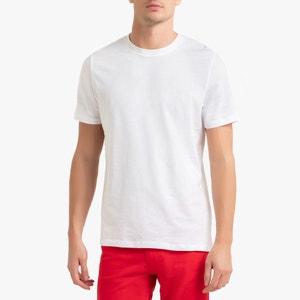 T-shirt met ronde hals, in katoen, Théo