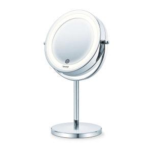 Miroir cosmétique orientable et éclairé BS55 BEURER