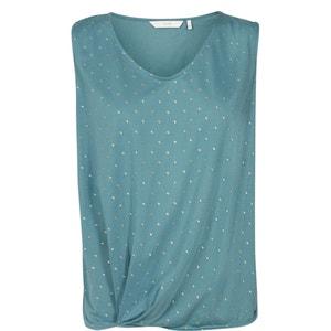 T-shirt zonder mouwen met ronde hals NUMPH