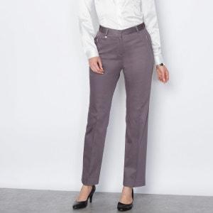 Pantalon droit en coton ANNE WEYBURN