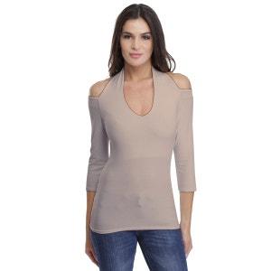 T-shirt 3-4 Modal épaules et dos nu Ness RENDEZ-VOUS PARIS