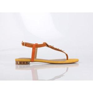 Sandales cuir Brad Mellow Yellow