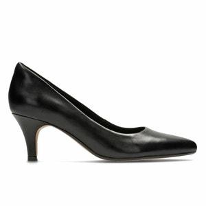 Isidora Faye Leather Heels CLARKS