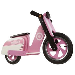 Draisienne Scooter : Pink Stripe KIDDIMOTO