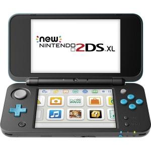 Console New Nintendo 2DS XL Noir + Turquoise 2DS NINTENDO