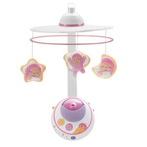 Carrusel Estrellas Mágicas con proyección doble, rosa CHICCO