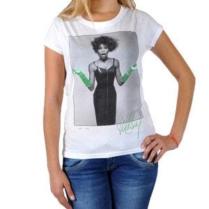 T-Shirt Eleven Paris Whitney Gloves WTS Blanc ELEVEN PARIS