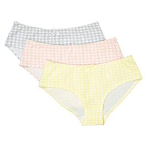 Shorties coton extensible (lot de 3) La Redoute Collections