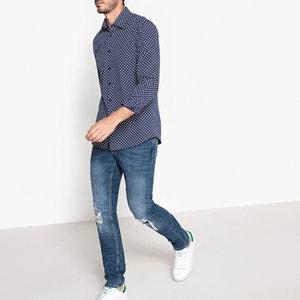 Camisa slim estampada 100% algodão La Redoute Collections