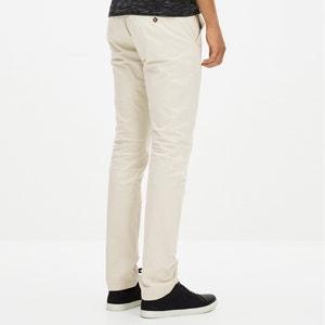Pantalon slack en coton stretch GOLAKE CELIO