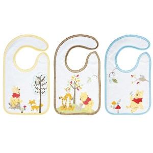 Lot de 3 bavoirs naissance Winnie  - Babycalin BABYCALIN