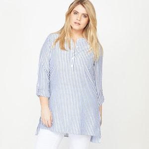 Рубашка в полоску с длинными рукавами CASTALUNA
