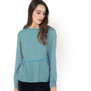 Блузка с рисунком SOFT GREY