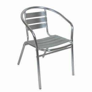 Set van 2 stapelbare bistro stoelen, aluminium of gelakt metaal LES PETITS PRIX